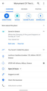 plán cesty google mapy