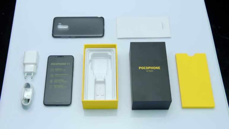 POCOPHONE F1-unboxing (official video)