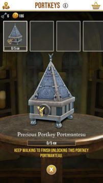 Přenášedlo hra Harry Potter mobil