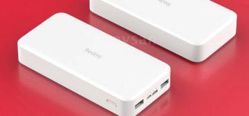 Redmi powerbanka 18W - rychlonabíjení