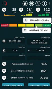 rychlost neomezený internet t-mobile