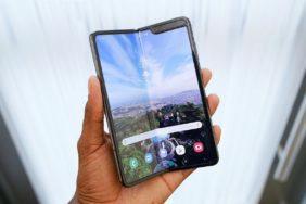 Samsung Galaxy Fold - nový design