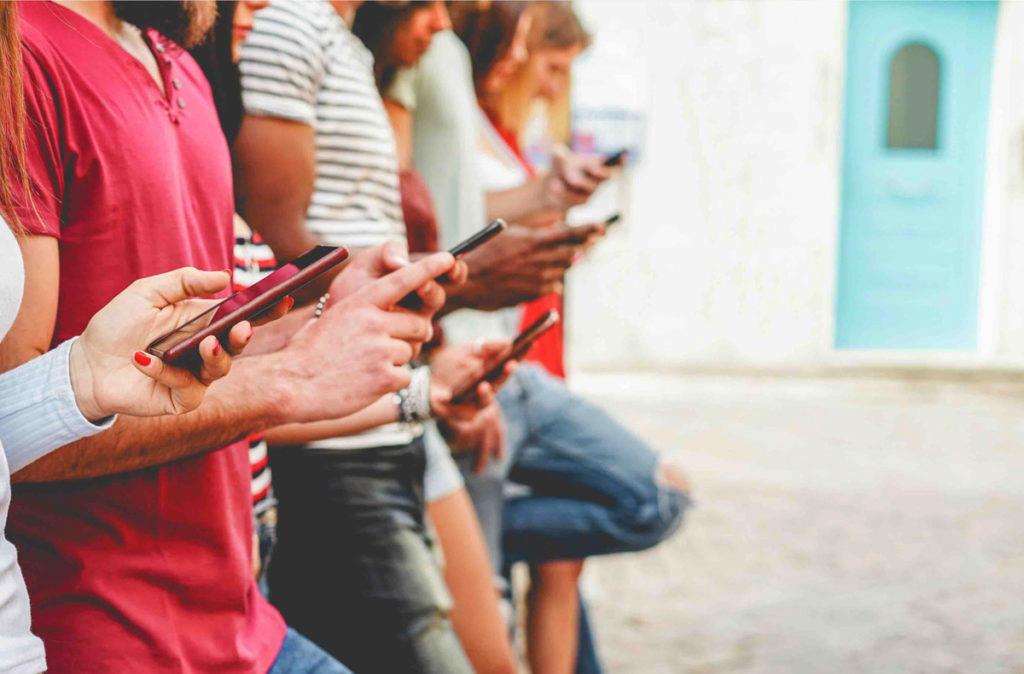 Sledování sociální sítě