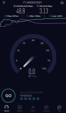 speed test net aplikace