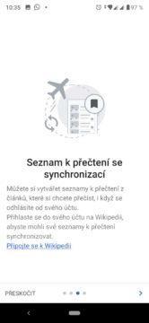 Synchronizace článků