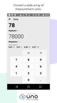 Kalkulačka z Windows pro Android