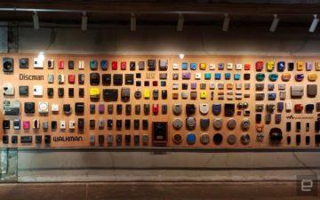 Walkman slaví 40 let - výstava - 230 exponátů