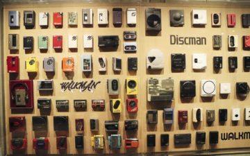 Walkman a Discman - retrospektivní výstava