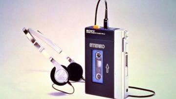 Walkman výstava - 40 let