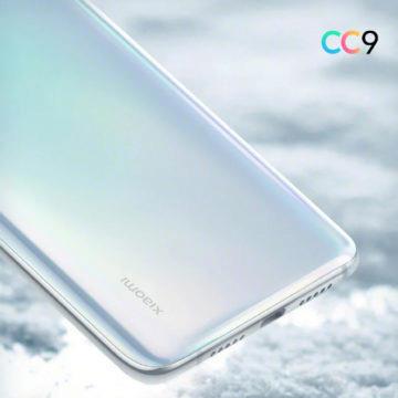 Xiaomi Mi CC9 spodní strana