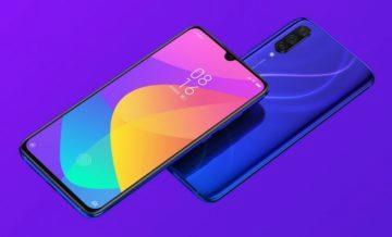 Xiaomi Mi CC9 přední strana