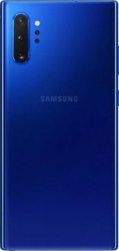 galaxy note 10+ aura blue