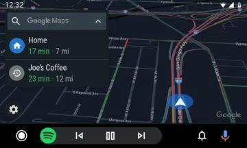 Android Auto - navigace
