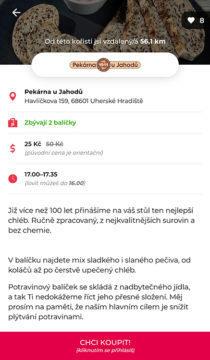 aplikace proti plýtvání jídlem