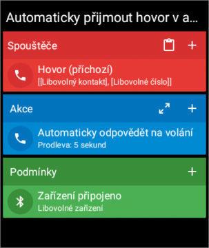 Automaticky přijmout hovor