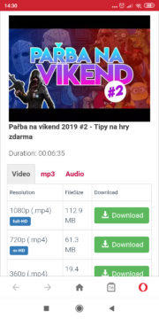 Automatizovaně stáhnout z YouTube video nebo mp3