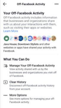 facebook ochrana soukromí