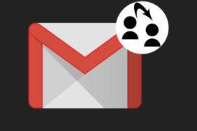 gesto gmail tmavý režim