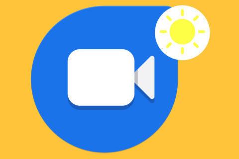 google duo low light mode