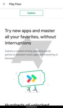 google play pass prémiové aplikace a hry