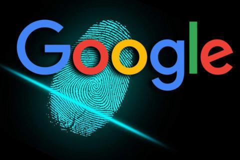 google přihlášení otisk prstu