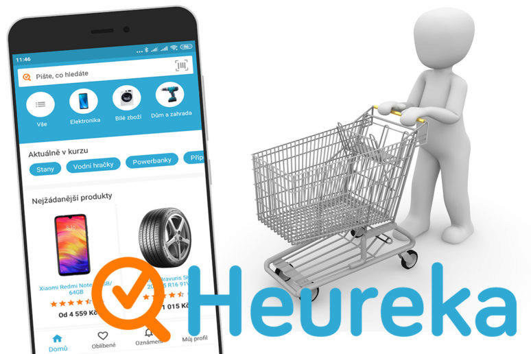 S mobilní aplikací Heureka budete vždy znát nejlepší ceny