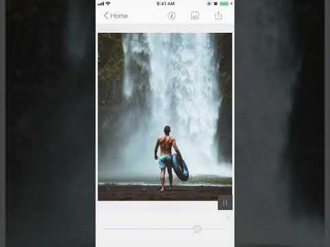 How to use Geometric path in ripple for seamless motion using StoryZ app for iOS