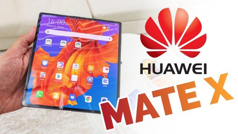 Huawei Mate X: první zkušenosti s ohebným telefonem 📱