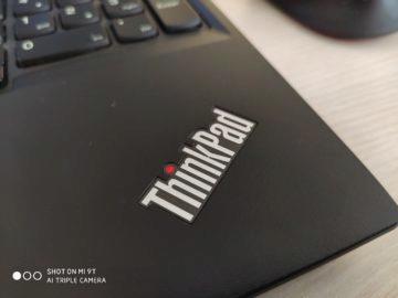 Xiaomi Mi 9T foto thinkpad