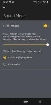 Jabra Sound+ ambientní zvuk