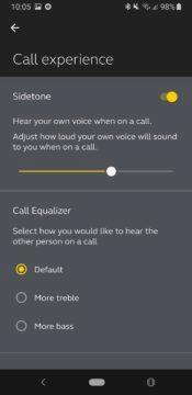 Jabra Sound+ hovor
