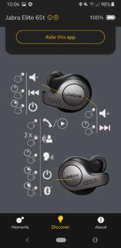 Jabra Sound+ ovládání