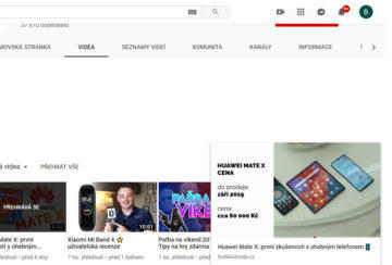 klávesová zkatka youtube