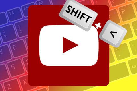 klávesové zkratky youtube pc