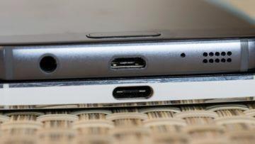 Konektor micro USB a USB-C