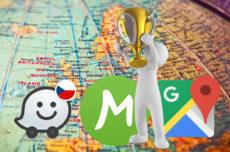 Waze, Mapy.cz, nebo Mapy Google? (Víkendová hlasovačka)