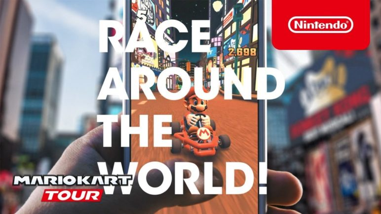 Mario Kart Tour - RACE AROUND THE WORLD