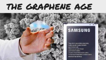 grafenové baterie samsung