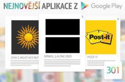 Nejnovější aplikace z Google Play #301: launcher pro telefony s AMOLED