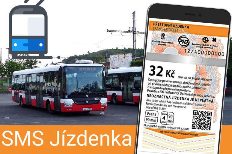 Nová aplikace SMS Jízdenka: snadný nákup lístků na MHD