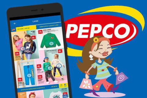PEPCO má novou mobilní aplikaci. Nabízí letáky i mapu prodejen
