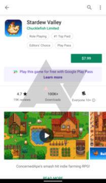 předplatné android aplikace