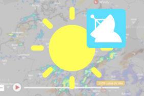 předpověď počasí cz radar bouřky