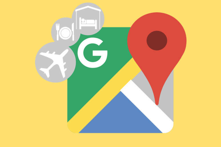 rezervace google mapy