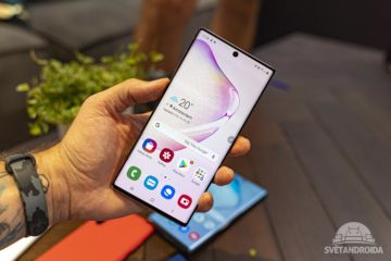 Samsung Galaxy Note10 displej