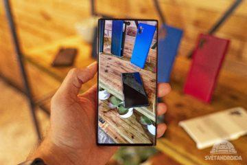 Galaxy Note10 fotoaparát
