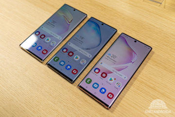 Samsung Galaxy Note10 přední strana
