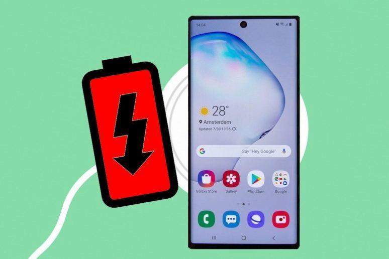 Samsung Galaxy Note 10 - rychlost nabíjení