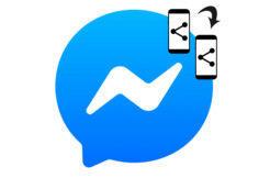 sdílení obrazovky messenger