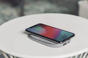 baterie bezdrátové nabíjení